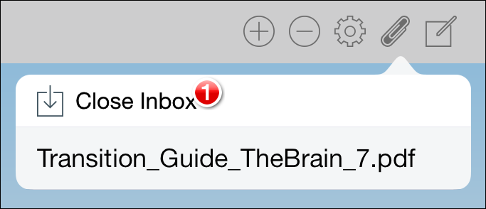 Add Inbox Item