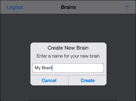Create New Brain